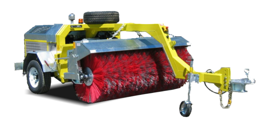 Road Spray Seal Sweepers